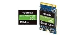 1TB Single Package PCIe® Gen3 x4L SSDs with 96-Layer 3D Flash Memory